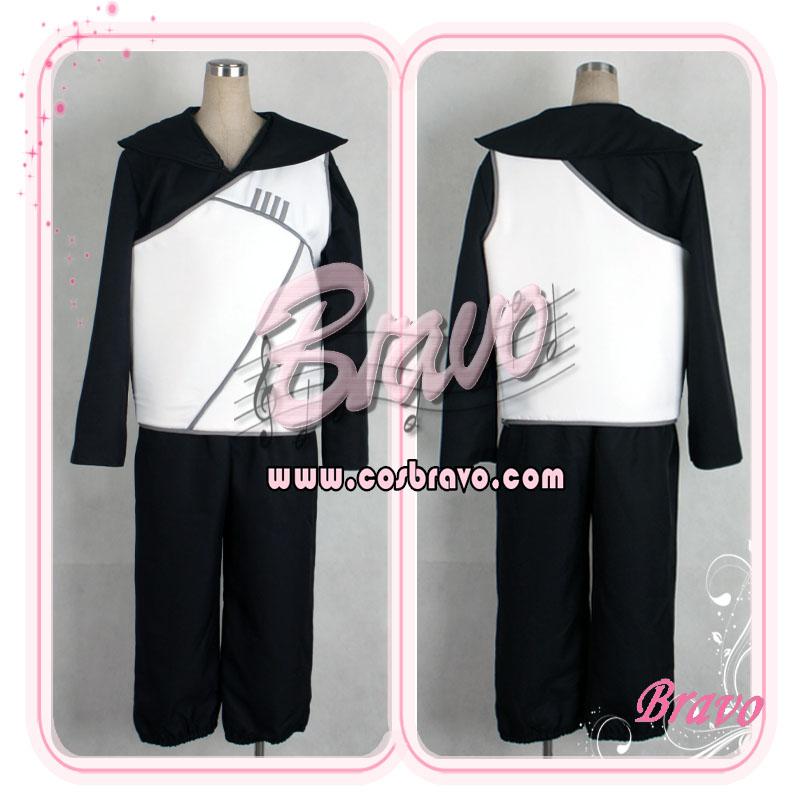 画像1: NARUTO -ナルト-疾風伝 雲隠れの忍 コスプレ衣装 (1)