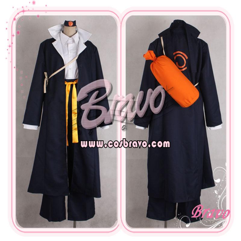 画像1: NARUTO ナルト疾風!木ノ葉学園伝 コスプレ衣装 (1)
